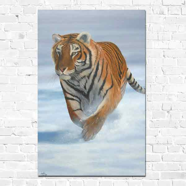 A Running Tiger